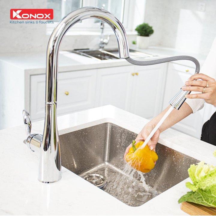 vòi rửa bát konox